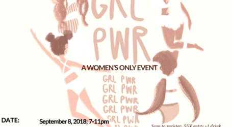 Black Women in Beijing presents GRL PWR
